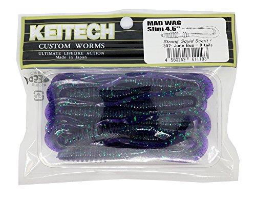 Keitech Mad Wag Slim Worm