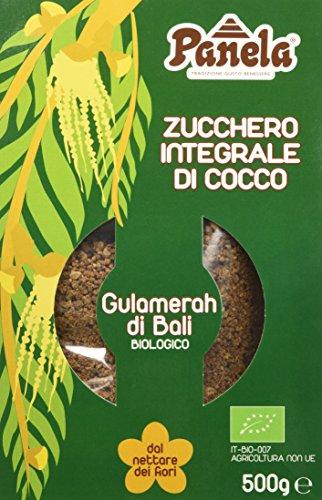 Panela Gulamerah - Zucchero Integrale di Cocco - 3 Pezzi da 500 g