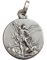 925 Sterlingowy srebrny święty Michael The Archanige Medal - święci Patron medalik