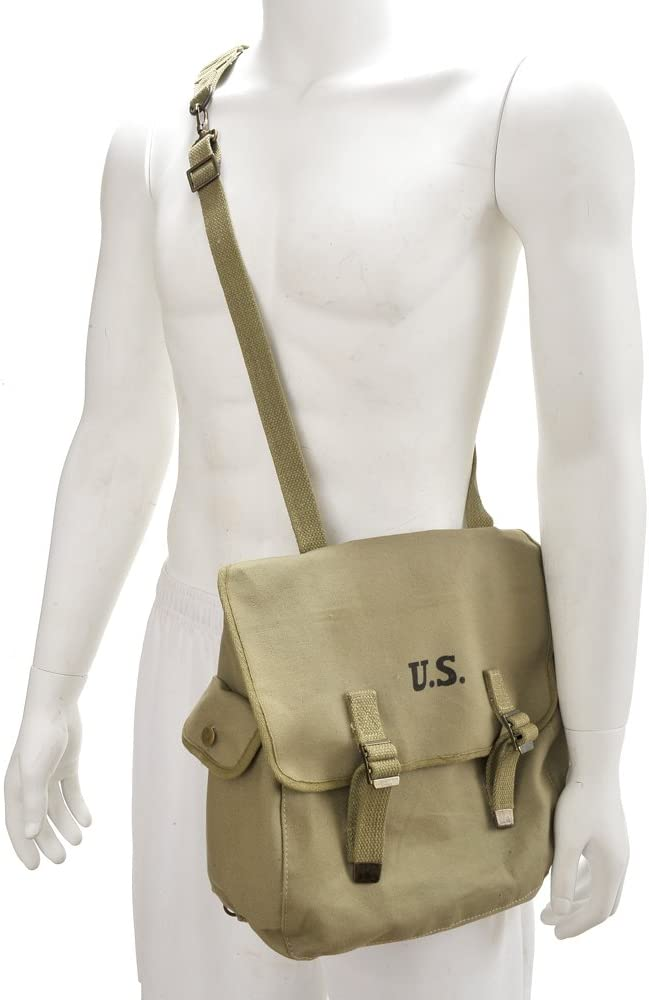 World War Supply U.S. WW2 M1936 Musette wholesale with Directly managed store Shoulder Strap Bag