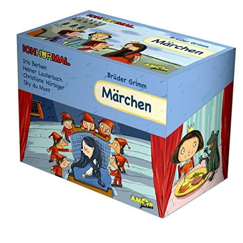 Märchen-Editions-Box (8 CDs) gelesen von Iris Berben, Christiane Hörbiger, Heiner Lauterbach, Sky du Mont - ICHHöRMAL: 8 CDs (im wertigen Karton) mit ... (alles in hochwertiger Klappdeckel-Box)