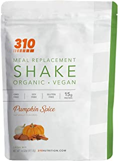 Sponsored Ad - Vegan Organic Plant Protein Powder and Meal Replacement Shake - By 310 Nutrition - Gluten, Dairy and Soy Fr...