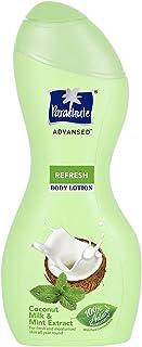 Parachute Advansed Refresh Body Lotion, 100% Natural Moisturisers, 250ml