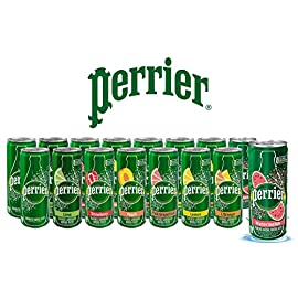 Perrier Flavored Carbonated Mineral Water - Sampler Variety Pack, All Flavors, 8.45 fl oz. Slim Cans, Natural Sparkling Drinking Water | 8 Flavors - Pack of 16 6 <p>16 Pack | 8 Flavors - You will get 2 of each - Original (no flavor), Lime, Lemon, Pink Grapefruit, L'Orange, Peach, Strawberry, Watermelon Perrier Carbonated Sparkling Water Beverages are 100% Naturally Flavored | Carbonated Mineral Water with Natural Flavor - 0% Calories, 0% Sweeteners. 8.45 ounce/250 ml sleek Slim Can is ideal for on-the-go refreshment. Fits easily on refrigerator shelf, chilled and ready to enjoy PERRIER Carbonated Mineral Water has delighted generations of beverage seekers, with its blend of bubbles and balanced mineral content for over 150 years. Originating in France, its effervescent spirit is known worldwide. It also offers a great alternative to carbonated soft drinks, with no sugar and zero calories. Born in the south of France, PERRIER Carbonated Natural Mineral Water has delighted people worldwide for more than 150 years. It's a delicious alternative to soft drinks and a sophisticated choice to satisfy your thirst.</p>