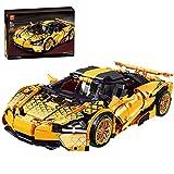LYCH Modelo de coche de carreras para McLaren 720S, con bloques de construcción compatibles con Lego Technic, 1128 piezas