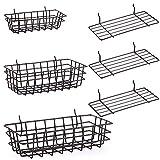Pegboard Baskets and Peg Board Racks, Pegboard...