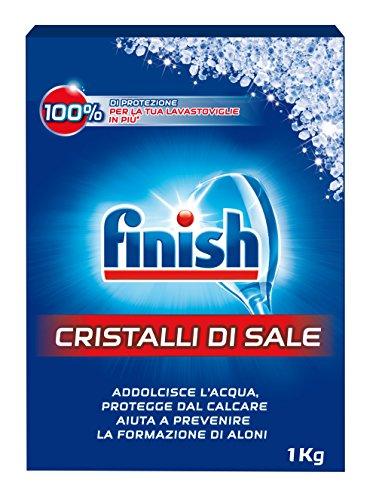 Finish Cristalli di Sale Lavastoviglie,  1 kg