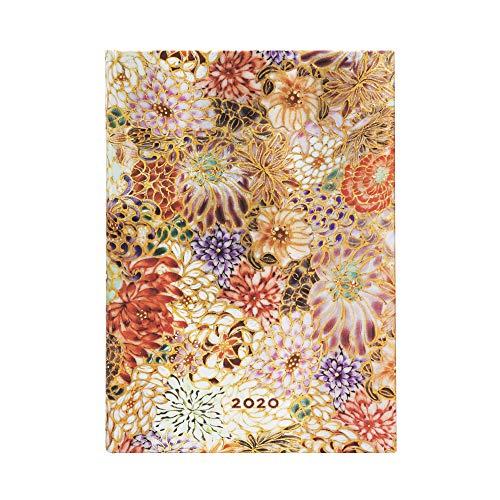 Paperblanks 12-Monatskalender 2020 | Kikka |Tagesüberblick | Midi (180 x 130 mm)