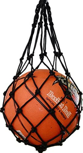 VORCOOL Volleyball Basketball Football Soccer Storage Net Bag Ball Carrier Mesh for One Ball Hold