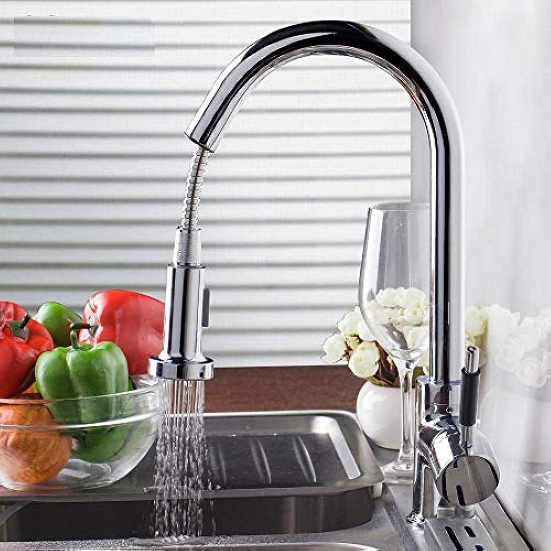 Armatur Hauptluxus Ziehen Küchen-Hahn-Plattform-Berg-Küchen-Wasserhhne Mit Heiem Und Kaltem Wasser-Einhandhahn Aus