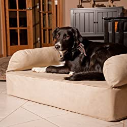 image of Snoozer Memory Foam Luxury Pet Sofa, XLarge