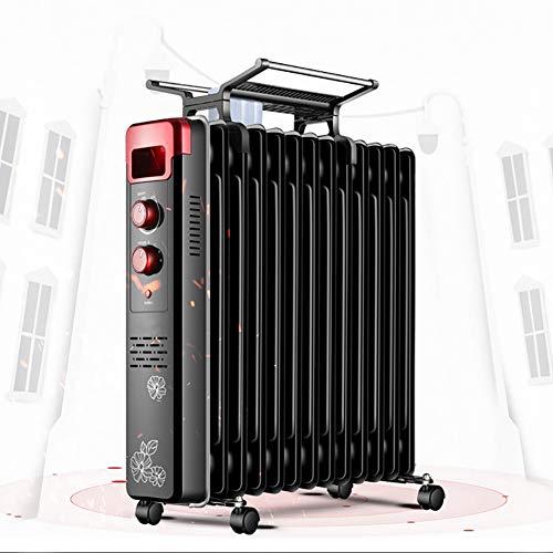 ZDYLM-Y con Aceite radiador de calefacción, Calentador de Aceite portátil 1500W eléctrico...
