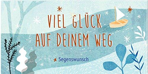 Pop-up-Büchlein mit Kuvert - Viel Glück auf deinem Weg: Segenswunsch
