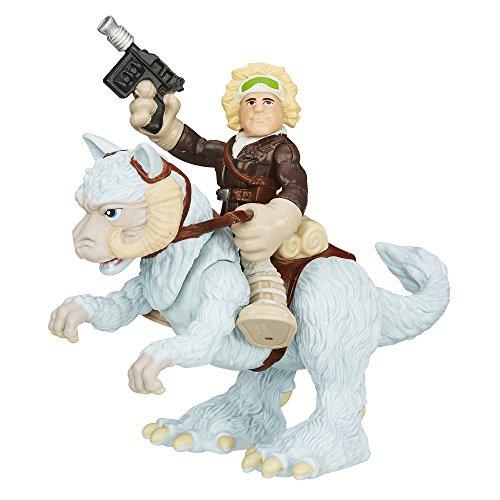 Disney Star Wars Galaktische Helden Actionfigur und Kreatur - Han Solo und Tauntaun Hoth Toy