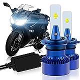 WinPower H7 バイク用 led ヘッドライト 純正交換用バルブ 6500K 12V 小型 CSP社製チップ 搭載 高輝度 二重放熱システム 2年保証 2個セット