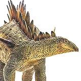 PNSO Tuojiangosaurus Figure Realistic Stegosauridae Dinosaur PVC Collector Toys Animal Educational Model Decoration Gift for Adult