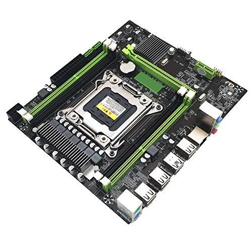duhe189014 para Intel X79H H91 B85 H81 LGA 2011 Motherboard Micro ATX 4 DDR3 1333 1600 1866 REG ECC RECC USB 3.0 SATA 3.0 Xeon X79 LGA2011 RX