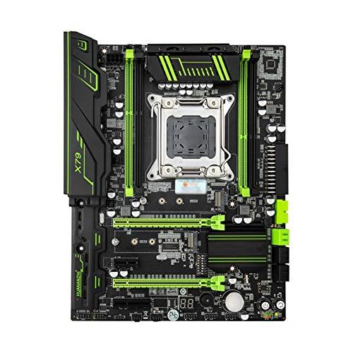 Xiatian Tablero de reemplazo de computadora ATX Placa Base Placa Base Fit For Huananzhi X79 LGA2011 Socket CPU Intel Xeon E5 1650 3.2GHz RAM 16G (4 * 4G) Reg ECC Suministro De PC Placa Base de compu