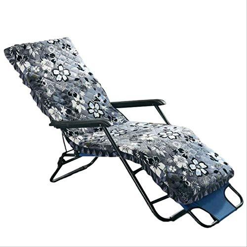 Coussin de Chaise Longue Dossier de siège Pliant Coussinets inclinables à Bascule Garden Sun Coussin de siège de Salon canapé Tatami Mat 150x52x5cm B