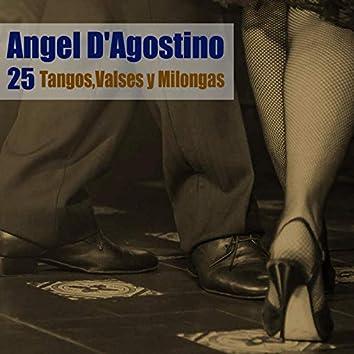 25 Tangos, Valses y Milongas