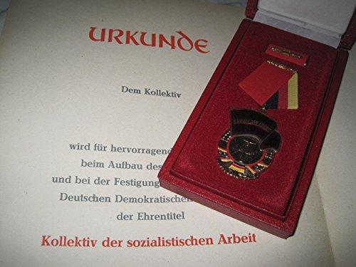 Banner der Arbeit Orden DDR Kleiner Held der Arbeit Ostalgie Museum