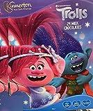 MND Dealings Amazing Kids Trolls - Calendario de Adviento con 24 bombones con leche para fijar el presente.