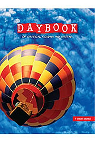 Daybook of Critical Reading and Writing: Teacher's Edition Grade 5 Language Arts 2008
