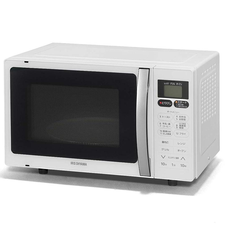 忠実な傀儡心理的アイリスオーヤマ オーブンレンジ 16L インバーター式 ホワイト MO-T1603