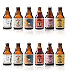 Birra Follina - Kit Box Degustazione 12 Birre Artigianali non filtrate e non pastorizzate - 33cl - Prodotta in Italia