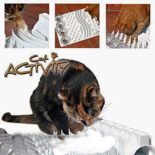 Trixie 4590 Cat Activity Fun Board, 30 × 40 cm, grau