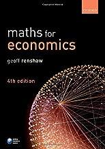 Best maths for economics geoff renshaw Reviews