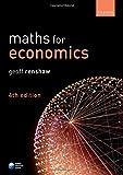 MATHS FOR ECONOMICS 4E