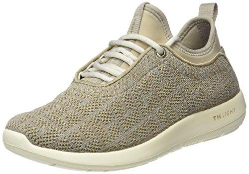 Tommy Hilfiger Damen Light Weight Slip ON Sneaker, Beige (Cobblestone 068), 41 EU