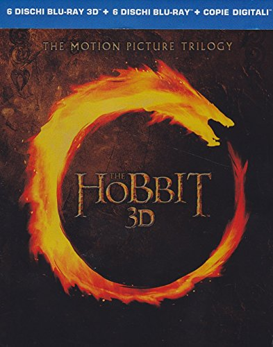 Lo Hobbit - La trilogia cinematografica (2D+3D) [3D Blu-ray] [IT Import]