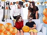 Halloween Deko Dekoration Grusel Set mit über 30 Teilen für Haus, Tisch & Garten - 6
