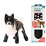 Walkee Paws Waterproof Dog Leggings - Keep Your Dog's' Clean & Dry Without The Hassle of Boots - Confetti Color (Small)