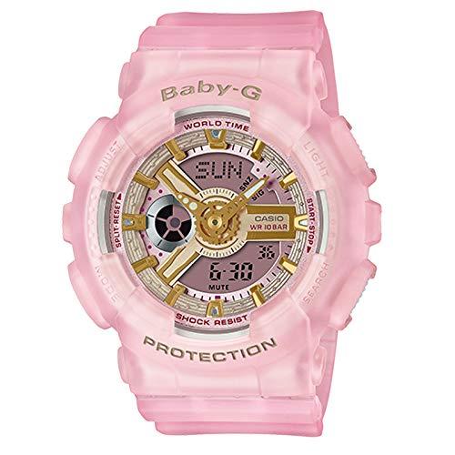G-Shock Baby-G By Casio Women's BA110SC-4A BA110 Series Analog-Digital Watch Pink