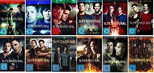 Supernatural Staffel 1-12 (1+2+3+4+5+6+7+8+9+10+11+12) [DVD Set]