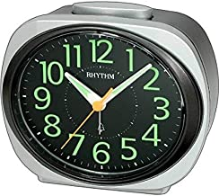 Rhythm Plastic Analog Desk & Shelf Clock – CRA838WR19