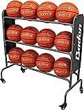 basketball rack - Baden Steel Basketball Rack (12-Balls)