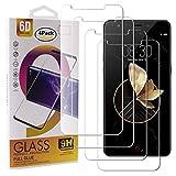 Guran 4 Paquete Cristal Templado Protector de Pantalla para Archos Diamond Gamma Smartphone 9H Dureza Anti-Ara?azos Alta Definicion Transparente Película