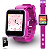 lzndeal Kids Smart Watch with Games, Kids Toys for Girlss Age 3-12 Year Old, Kids Watches Girls 5-7, Christmas Birthday Gift for Toddler Boy & Girls - (Purple)