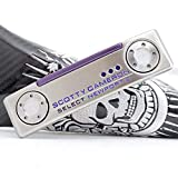S-co-tty Ca-me-Ron Custom Putter New-Port 2[BlueSkull Style]-Right Hand (35inch)