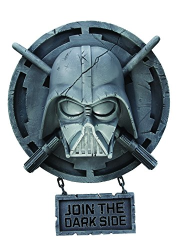Rubie's-déguisement officiel - Star Wars-Déco de Mur Dark Vador, Unisex- Taille S - ST-8539