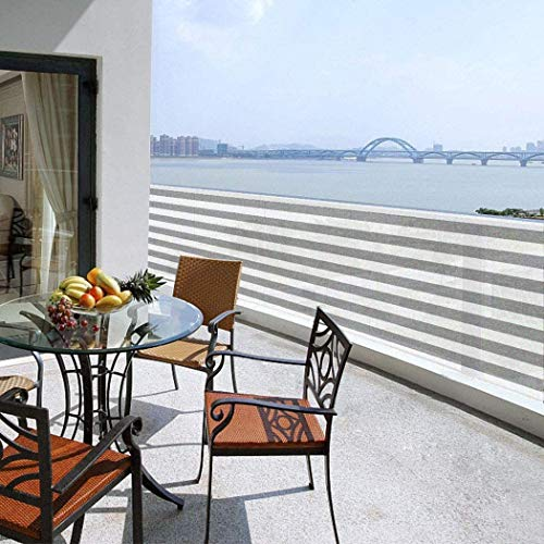 Striped Multi-Function Fence Balcony Privacy Net