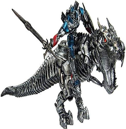 TLMYDD Spielzeugmodell Filmfigur Jurassic Dinosaurier Transformatoren Dekoration Souvenirs Sammler Handwerk Geschenke Optimus Prime Dinosaurier 16x25cm Spielzeugstatue