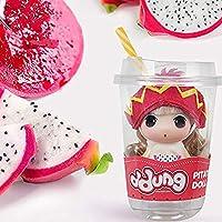 フルーツシリーズ混乱人形ファッションH9CM人形姫人形BESTWALED子供のおもちゃの女の子ドレスアップ人形のおもちゃ、プレイハウス人形セット子供の日の誕生日クリスマスギフト,Dragon fruit