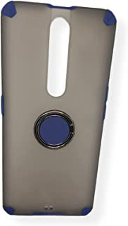 OPPO F11 PRO Case Slim with 360° Rotating Ring Holder Matte For OPPO F11 PRO cover (Blue)