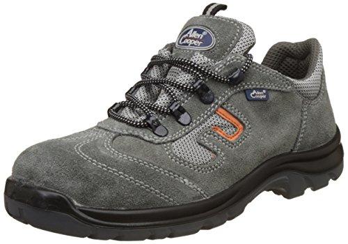 Allen Cooper AC-1459 Safety Shoe, Double Density DIP-PU Sole, Grey, Size 7