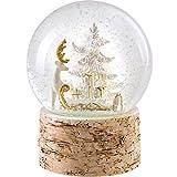 WeRChristmas Decoración de Navidad con diseño de Reno y Trineo, Multicolor, 15 cm